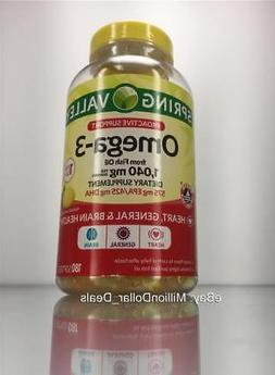 1 040 mg omega 3 proactive support