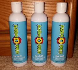 3 New 8oz Bottles of Dinovite SuprOmega Fish Oil-Dog/Cat Sup