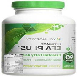 90 Softgels Ultimate EFA Plus Youngevity Fish Oil Ships Worl
