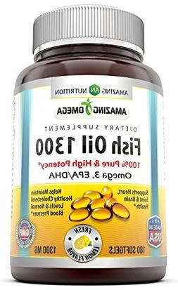 Amazing Nutrition - Amazing Omega 100% Pure High Potency Ome