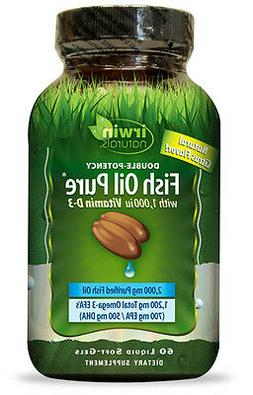Irwin Naturals - Double Potency Fish Oil Pure Natural Citrus