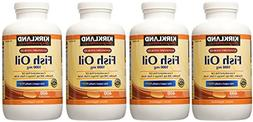 Kirkland Signature, Fish DMZul Oil 1000 mg 400 Softgels