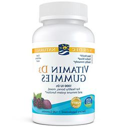 Nordic Naturals - Vitamin D3 Gummies, Healthy Bones, Mood, a