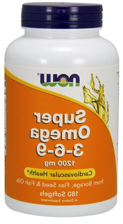 Now Foods: Super Omega 3-6-9 Cardiovascular Health 1200 mg,