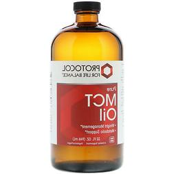 Protocol For Life Balance - MCT Oil - 100% Pure to Support W