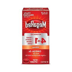 MegaRed Advanced 4in1 500mg, 40 softgels - Concentrated Omeg