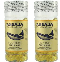 Alaska Deep Sea Fish Oil, Omega 3 DHA/EPA 1000 mg 200 Softge