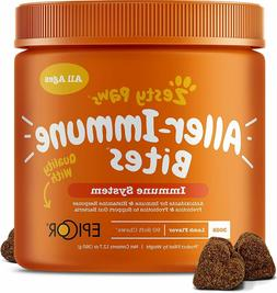 Allergy Immune Supplement for Dogs - With Omega 3 Wild Alask