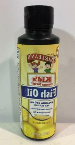 Barlean s Kid s Omega Swirl Fish Oil Lemonade 8 oz 227 g Glu