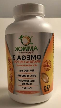 concentrated omega 3 fish oil nutritional supplement