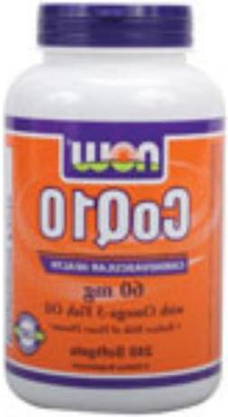 CoQ10 60 mg w/Omega 3 Fish Oils - 240 Gels