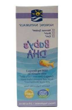 Baby's Dha with Vitamin D3 2 fl oz Liquid