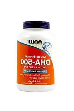NOW Foods DHA-500 180 Softgels