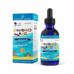 Nordic Naturals Children's DHA Xtra - Berry Flavored Fish Oi