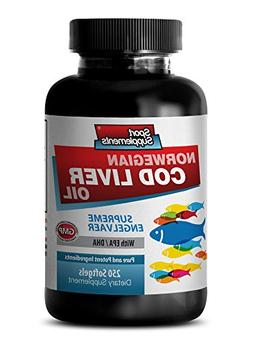 Vitamins for hair growth for men - NORWEGIAN COD LIVER OIL w