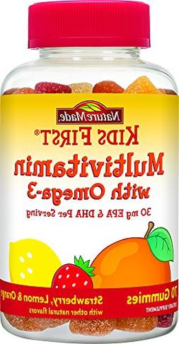 Nature Made Kids First Multivitamin with Omega-3 Gummies, 70