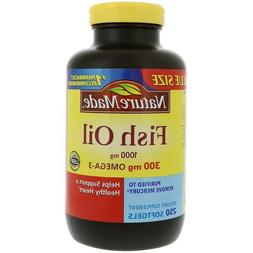 Nature Made Fish Oil 1000 mg Dietary Supplement Liquid Softg