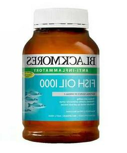 Blackmores Fish Oil 1000mg ~ 400 Capsules ~ Fast Shipping 7-