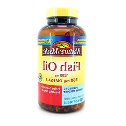 Nature Made Fish Oil 1200 Mg  200 Liquid Softgels