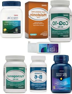 GNC,Fish oil,EPA1000 ,B6,Melatonin 5 mg ,kids Chew Probiotic