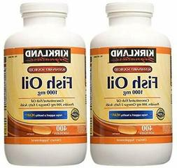 Kirkland Signature Fish Oil Concentrate with Omega-3 Fatty A