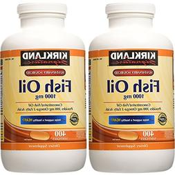 Kirkland Signature Natural Fish Oil Concentrate 1000 Mg with