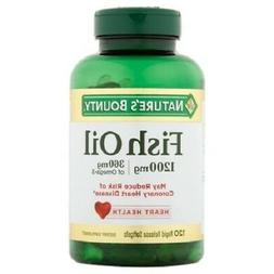 Nature's Bounty Fish Oil 1200mg, 120 Softgels