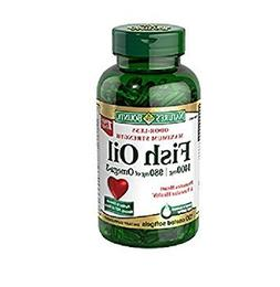 Nature's Bounty Fish Oil 1400 Mg Odor-less Maximum Strength: