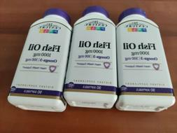 fish oil omega 3 1000 mg 90