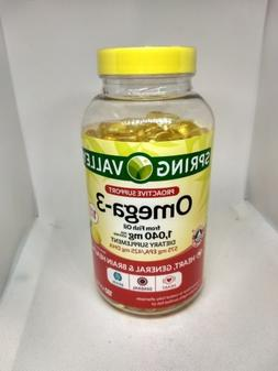 Spring Valley Fish Oil Omega-3 1040mg Per Serving 180 Softge