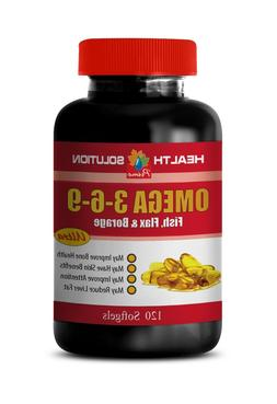 fish oil - OMEGA-3-6-9 3600mg - fish, flax, and borage - ant