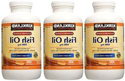 Kirkland Signature, Fish OQntI Oil 1000 mg 400 Softgels