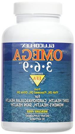 Glucoflex Omega 3-6-9, Omegas from EPA/DHA Fish Oil for Join