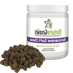 Nature Gnaws Glucosamine Soft Chews for Dogs - Extra Strengt