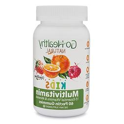 Go Healthy Natural Multivitamin Gummies for Kids, Vegetarian