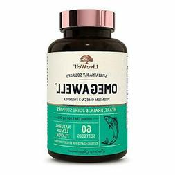 OmegaWell Fish Oil: Heart, Brain, and Joint Support | 800 mg