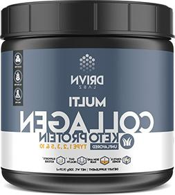Keto Protein Powder and MCT Oil, it Includes Hydrolyzed Coll
