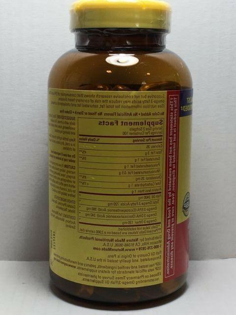 200 Oil 1200mg, Omega-3 200 Healthy **