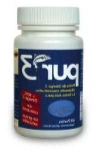 PUR-3 - 60 softgels of pure Omega-3 with more than 90% of es