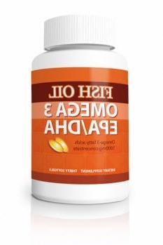 Omega-3 Fish Oil Pills - Maximum Strength EPA / DHA 1000 mg