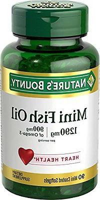 6 pack nature s bounty fish oil