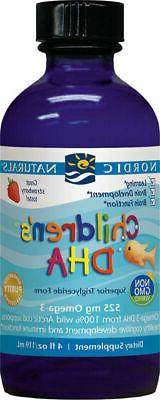 Nordic Naturals Children's DHA Liquid - Omega 3 DHA Fish Oil