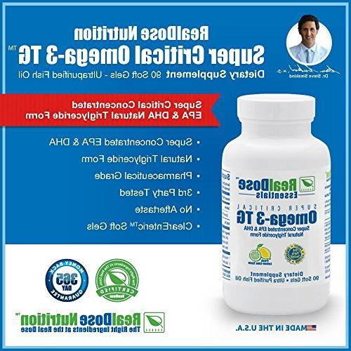 Doctor Fish Softgels - Pharmaceutical Grade Supplement with 2,400 of - 1,200 EPA per Serving Softgels
