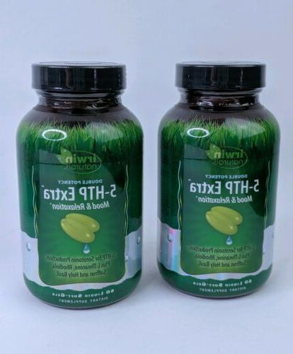 Double Potency 5-HTP Extra Irwin Naturals 60 Softgel