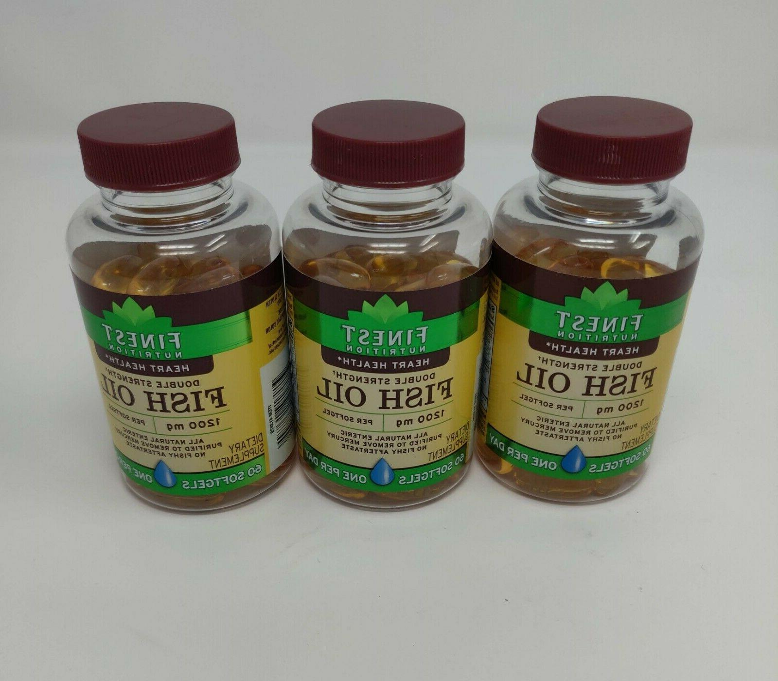 Finest Nutrition Fish Softgels 60