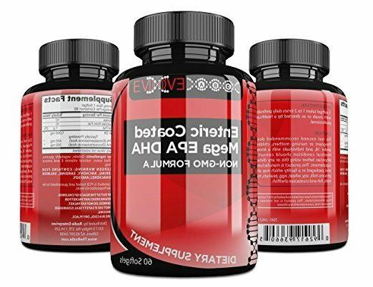 double strength enteric coated fish oil pills