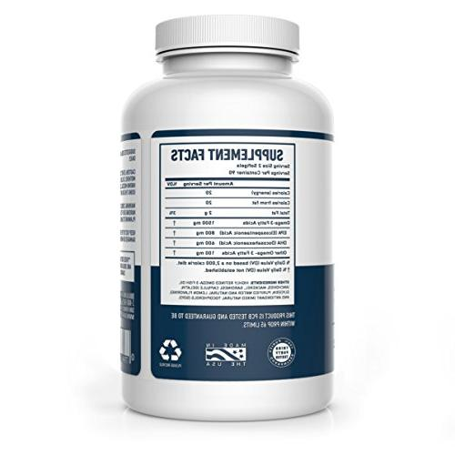 3 Oil Supplement - 180 Capsules