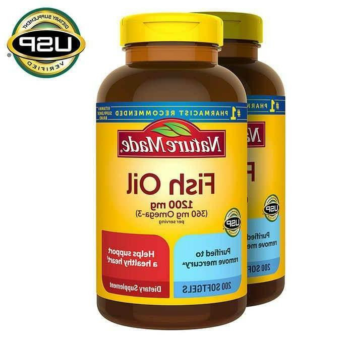 fish oil 1200 mg 400 softgels free