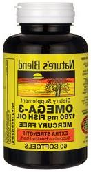 Nature's Blend Fish Oil 1760 mg Omega 3 Extra Strength - 60