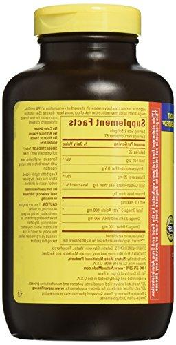 Nature Oil 1000 mg. Size